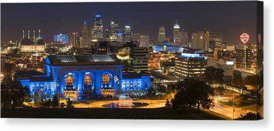 Kc Royal Skyline Canvas Print