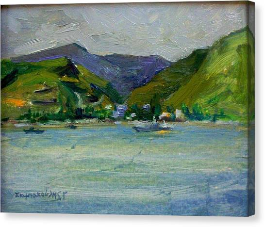 Kea Canvas Print by George Siaba