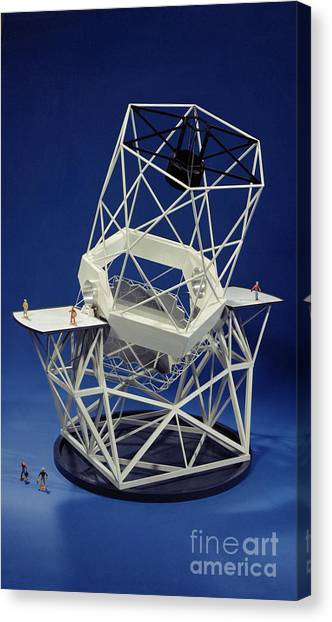 Keck Canvas Print - Keck Observatorys Ten Meter Telescope by Science Source