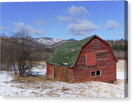Keene Barn Canvas Print