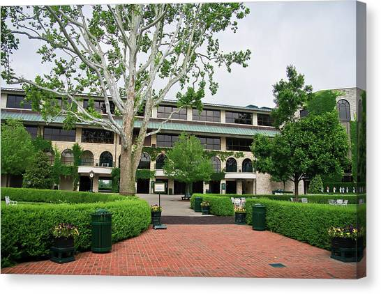 Keeneland Race Track In Lexington Canvas Print