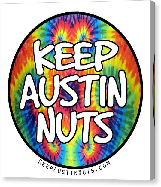Keep Austin Nuts Canvas Print