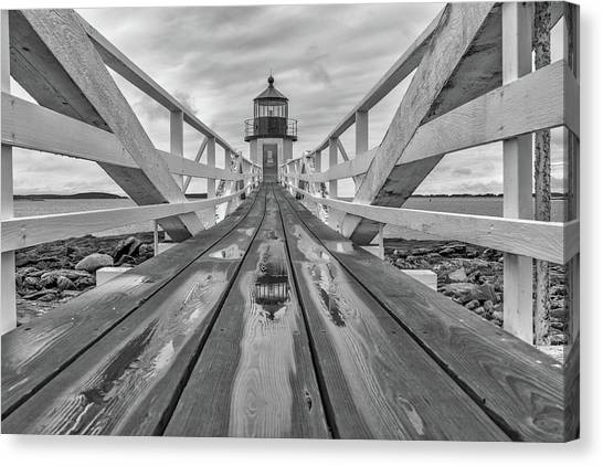 St George Canvas Print - Keeper's Walkway At Marshall Point by Rick Berk