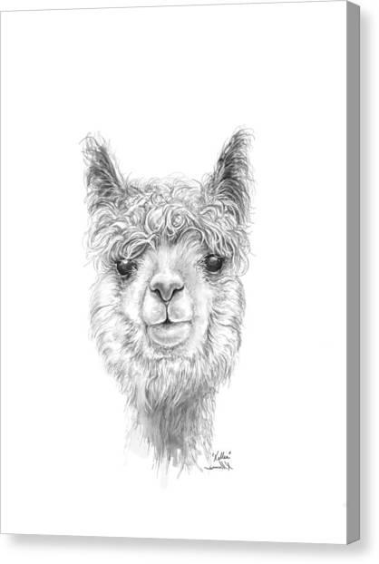 Canvas Print - Kellea by K Llamas