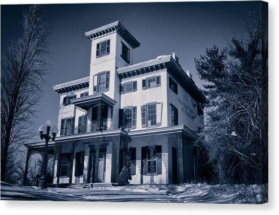 Kennedy-supplee Mansion Canvas Print