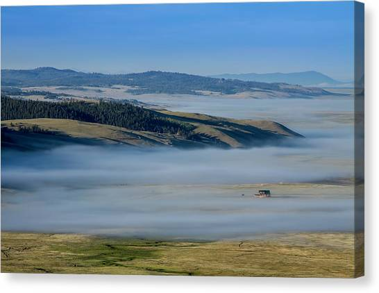 Kenosha Pass Clouds Canvas Print