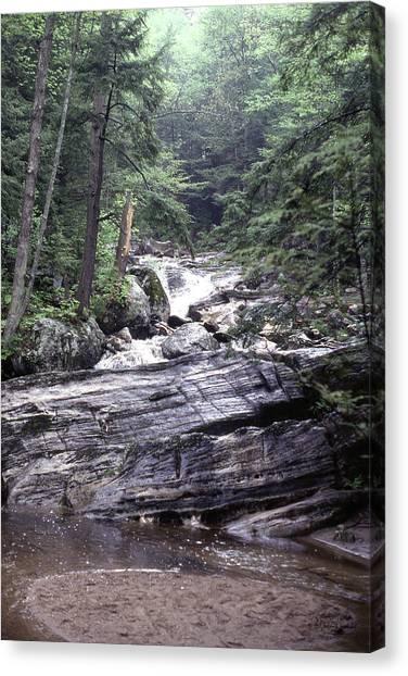 Kent Falls 2 Canvas Print