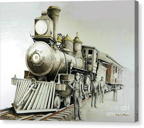 Kentucky Iron Horse Canvas Print