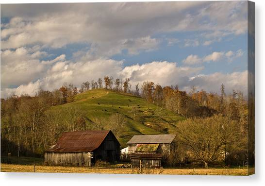 Kentucky Mountain Farmland Canvas Print
