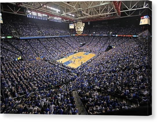Sec Canvas Print - Kentucky Wildcats Rupp Arena by Replay Photos
