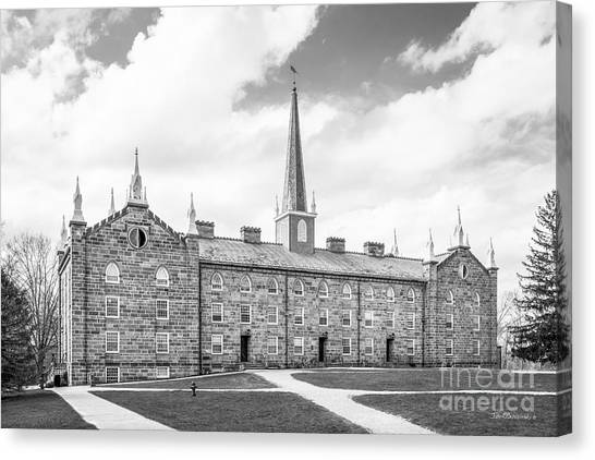 Celebration Canvas Print - Kenyon College Old Kenyon by University Icons