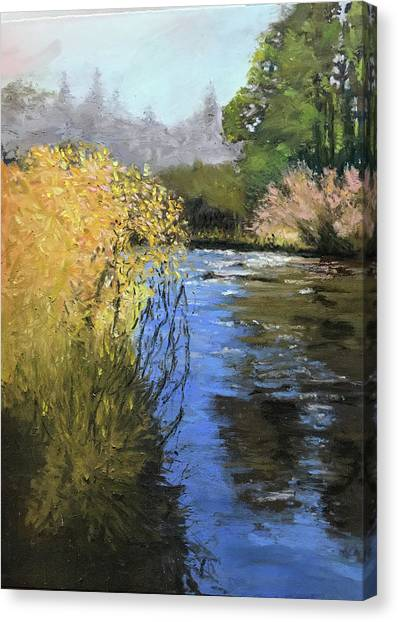 Kern River On A Fall Day Canvas Print