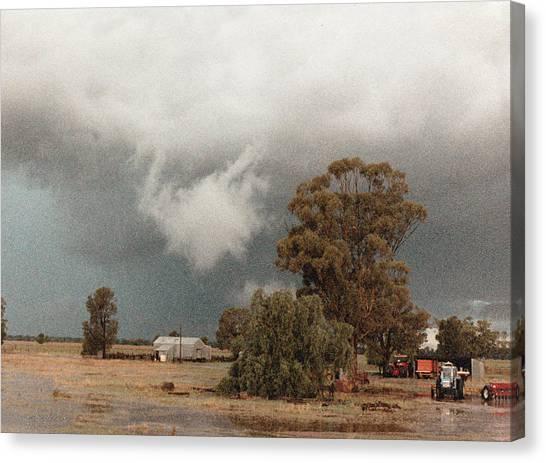 Kerula Storm  Canvas Print