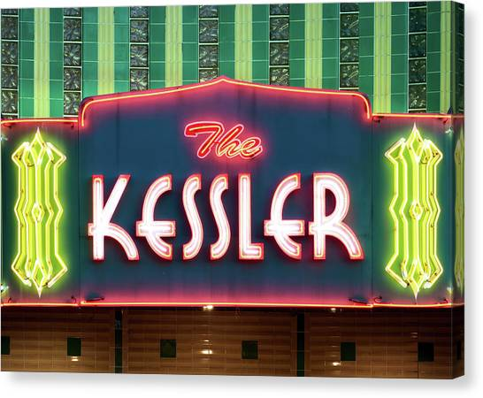 Kessler Theater 042817 Canvas Print