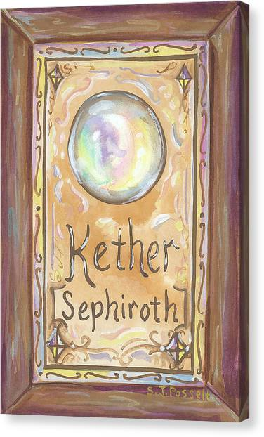 Kether Canvas Print