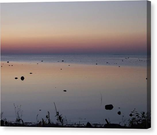 Kettle Point Sunset Canvas Print