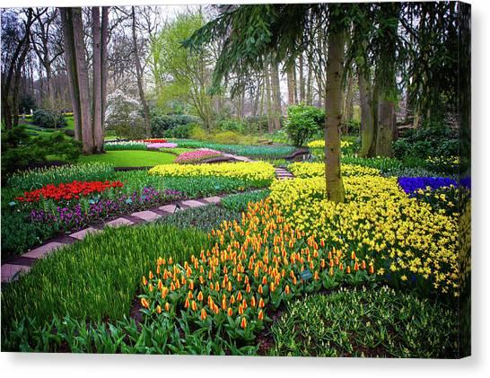 Keukehof Botanic Garden 2015 Canvas Print