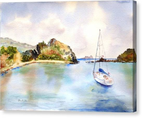 Key Bay, Peter Is. Canvas Print