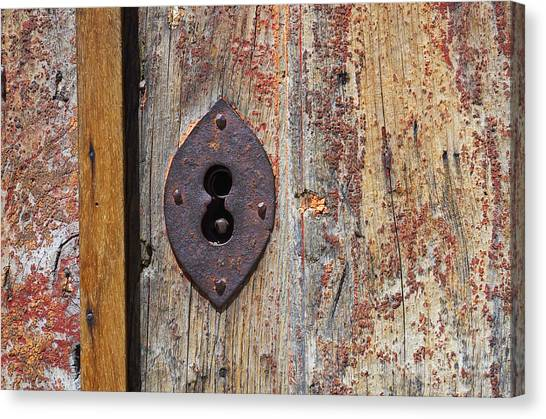 Key Hole Canvas Print
