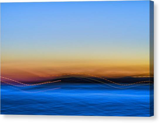 Key West Abstract Canvas Print