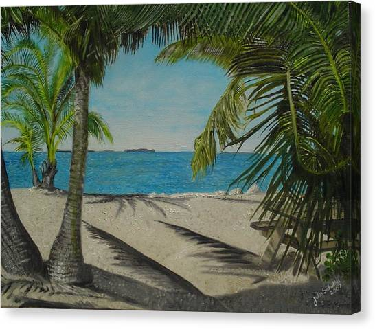 Key West Clearing Canvas Print by John Schuller