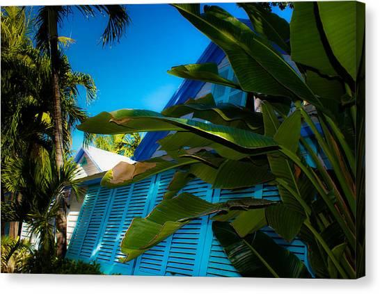 Key West House Canvas Print by Patrick  Flynn