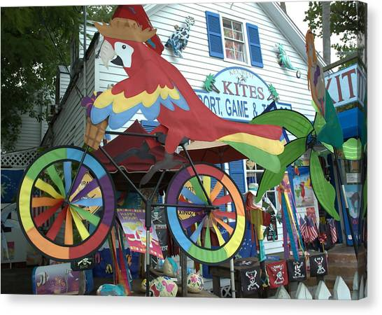 Key West Kites Canvas Print