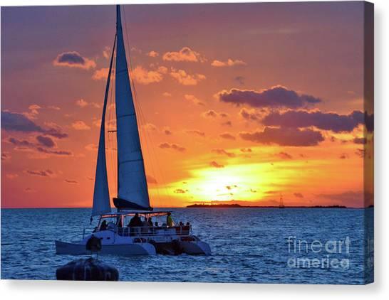 Key West Magic Canvas Print
