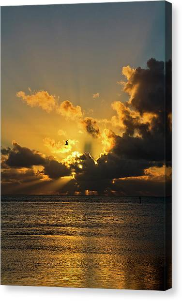 Key West Sunrise 39 Canvas Print