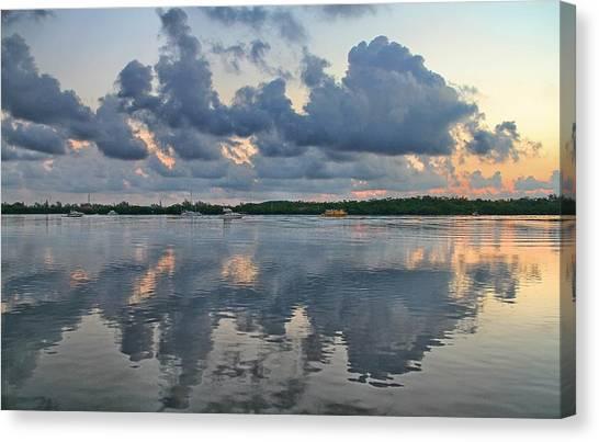 Canvas Print featuring the photograph Key West Sunrise 7 by Bob Slitzan