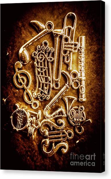 Compose Canvas Print - Keys Of A Symphonic Orchestra by Jorgo Photography - Wall Art Gallery