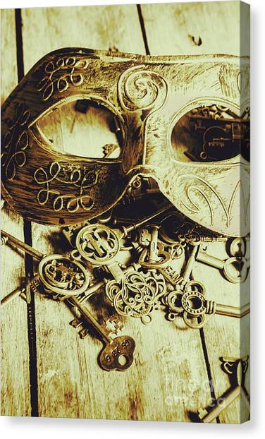 Masquerade Canvas Print - Keys To The Kingdom by Jorgo Photography - Wall Art Gallery