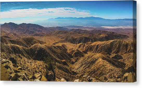 Keys View Overlook Panorama Canvas Print