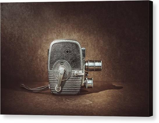 Vintage Camera Canvas Print - Keystone Capri K28 by Scott Norris