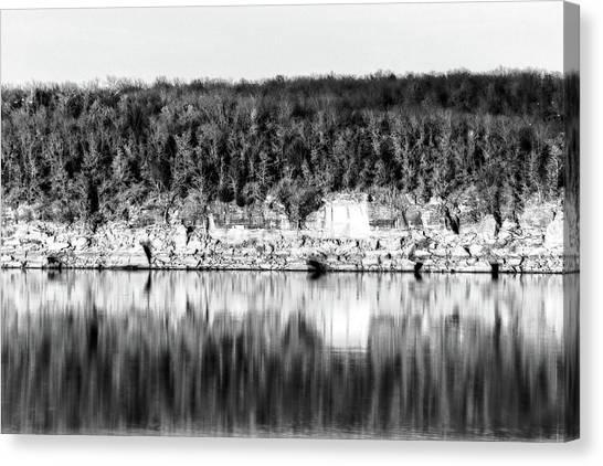 Keystone Reflected Canvas Print