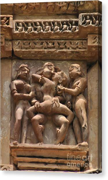 Khajuraho Temples 5 Canvas Print
