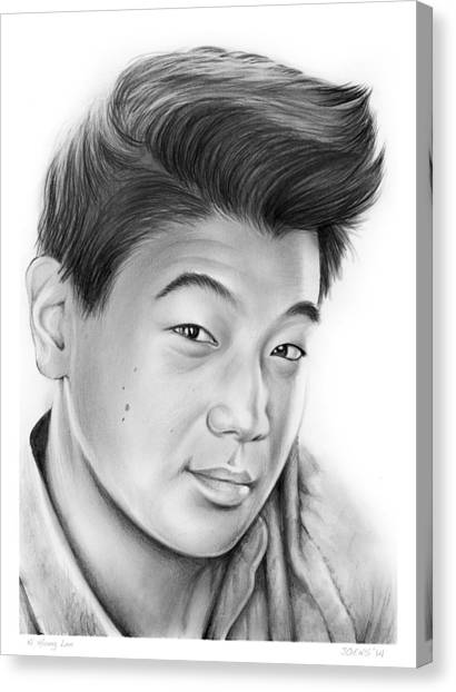 Korean Canvas Print - Ki Hong Lee by Greg Joens