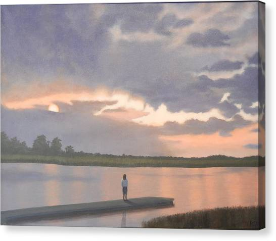 Kiawah Sunset Canvas Print