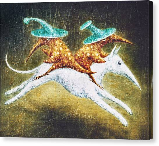 Kidnapping Canvas Print by Lolita Bronzini