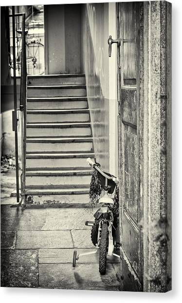 Kid's Bike Canvas Print