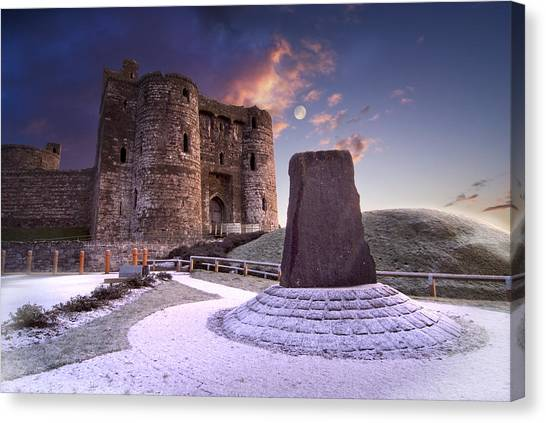 Kidwelly Castle 2 Canvas Print