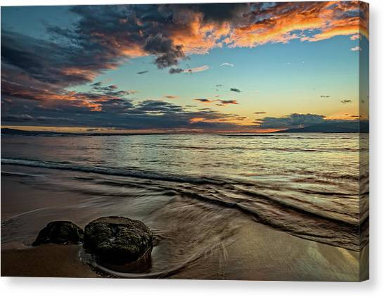 Kihei, Maui Sunset Canvas Print