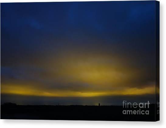 Kijkduin Sunset Canvas Print