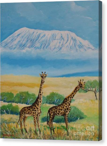 Kilimandjaro Canvas Print