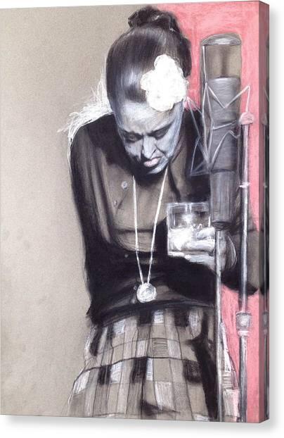 Killing Billie Holiday Canvas Print