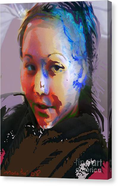 Kime Canvas Print by Noredin Morgan