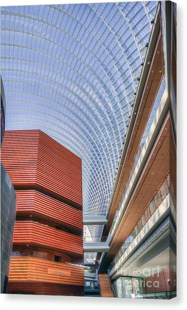 Kimmel Center For The Performing Arts Canvas Print
