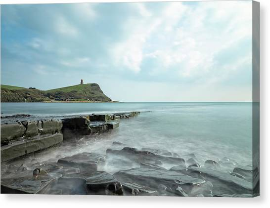 Peace Tower Canvas Print - Kimmeridge - England by Joana Kruse