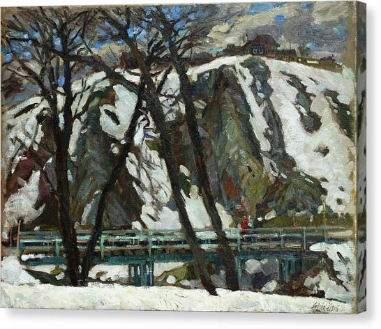 Ural Mountains Canvas Print - Kin by Juliya Zhukova