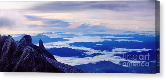 Kinabalu Panorama Canvas Print